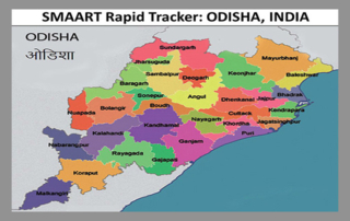 SMAART Rapid Tracker - Indian state: ODISHA